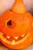 Décoration de potiron de Halloween dans Monténégro images libres de droits