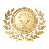 Décoration de récompense Photos stock