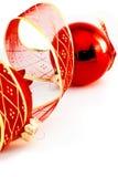 Décoration de rouge de Noël Images libres de droits