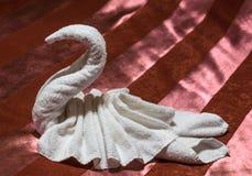 Décoration de serviette Photographie stock libre de droits