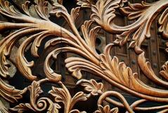 Décoration de Swirly image libre de droits