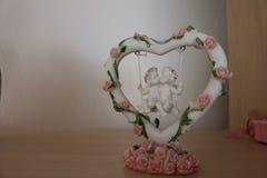 Décoration de symbole d'amour Images libres de droits