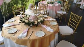 Décoration de Tableau pour des invités photos stock