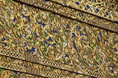 Décoration de temple de Chiang Mai (Thaïlande) Photos libres de droits