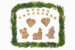 Décoration de thème de Noël Images libres de droits