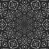 Décoration de tuile de dentelle de rideau en modèle de textile illustration de vecteur
