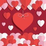 Décoration de Valentine Photographie stock libre de droits