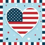 Décoration des Etats-Unis Images stock