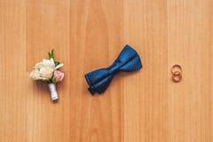 Décoration des nouveaux mariés Photographie stock