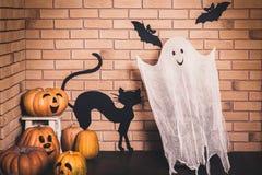 Décoration drôle de Halloween Images libres de droits