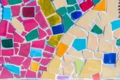 Décoration en céramique colorée de modèle images stock