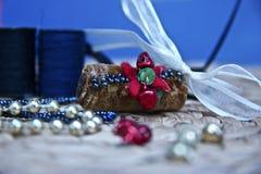 Décoration fabriquée à la main de Noël Image libre de droits