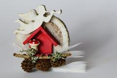 Decoration Faite Main De Noel D Hiver Avec L Ange En Bois