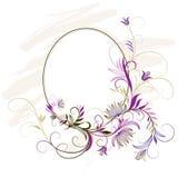 Décoration florale illustration stock