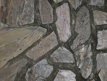 Décoration grise de mur de couleur photo libre de droits