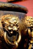 Décoration impériale de palais Photographie stock libre de droits