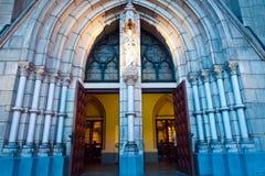 Décoration intérieure de Katedral Photo stock