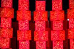 Décoration pendant la nouvelle année chinoise, Singapour photographie stock