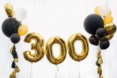 Décoration pour 300 Photographie stock libre de droits
