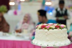 Décoration pour le gâteau de mariage Photo libre de droits