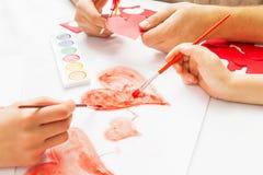 Décoration pour le jour de valentines Photo libre de droits