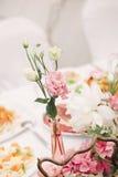 Décoration pour un mariage Photographie stock