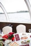 Décoration pour un mariage Images stock