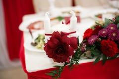 Décoration pour un mariage Photographie stock libre de droits