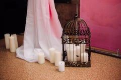 Décoration pour un mariage Photos stock