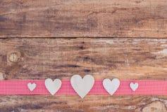 Décoration romantique de fond d'amour de coeur pour Valentine Photo stock