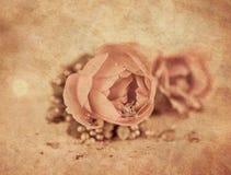 Décoration rose romantique Photo libre de droits