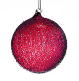 Décoration rouge de Noël photo stock