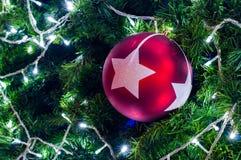 Décoration sur l'arbre de cristmas Image libre de droits