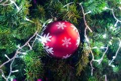 Décoration sur l'arbre de cristmas Photo stock