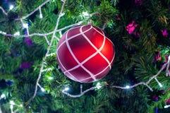 Décoration sur l'arbre de cristmas Photos libres de droits