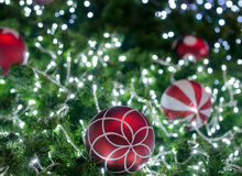 Décoration sur l'arbre de cristmas Photographie stock libre de droits