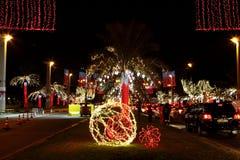 Décoration sur la quarante-deuxième célébration de jour national chez le Bahrain Photo stock