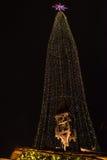 Décoration traditionnelle de Noël à Hambourg, Allemagne Image stock