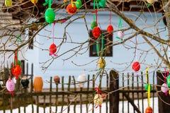 Décoration traditionnelle de Pâques. Images libres de droits