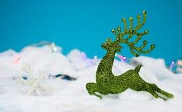 Décoration verte de Noël Images stock