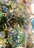 Décorations abstraites de Noël Photographie stock