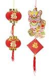 Décorations chinoises d'an neuf Photo libre de droits
