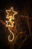 Décorations d'éclairage Image libre de droits