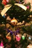 Décorations d'arbre de Noël photo libre de droits