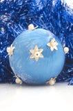 Décorations d'arbre de Noël Photographie stock