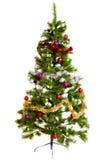 Décorations d'isolement de Noël-arbre 2016 bonnes années Photographie stock libre de droits
