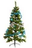 Décorations d'isolement de Noël-arbre 2016 bonnes années Image libre de droits