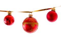 Décorations d'an neuf et de Noël Photos stock