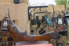Décorations dans le restaurant arabe Photos libres de droits