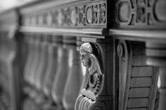 Décorations de bas-relief de pierre d'Angel Carved Images stock